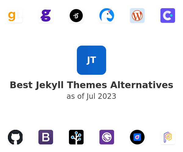 Best Jekyll Themes Alternatives