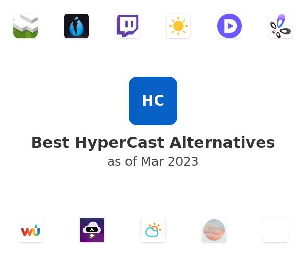Best HyperCast Alternatives