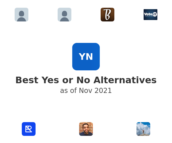 Best Yes or No Alternatives