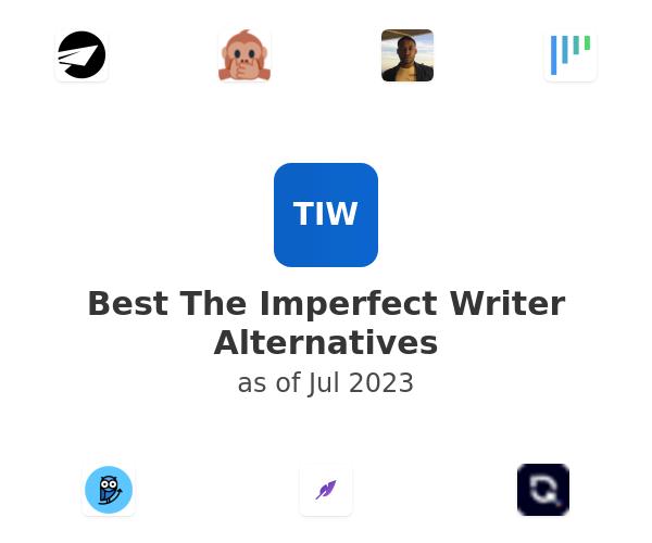 Best The Imperfect Writer Alternatives
