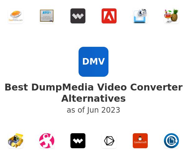 Best DumpMedia Video Converter Alternatives