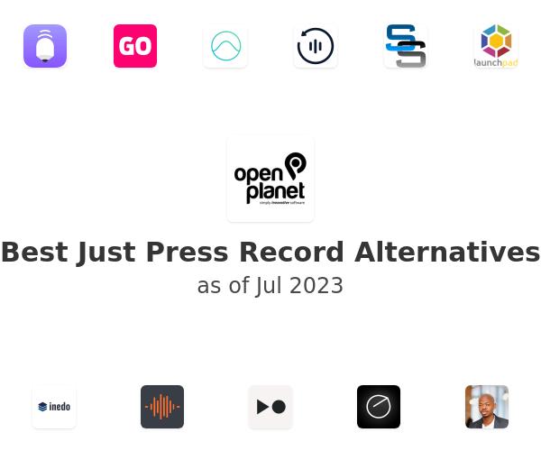 Best Just Press Record Alternatives