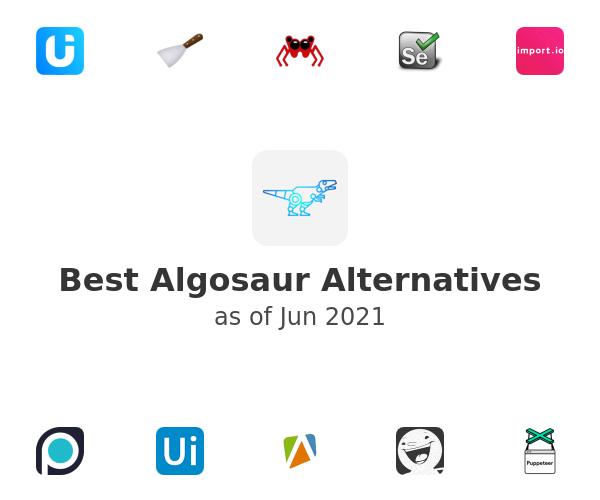 Best Algosaur Alternatives