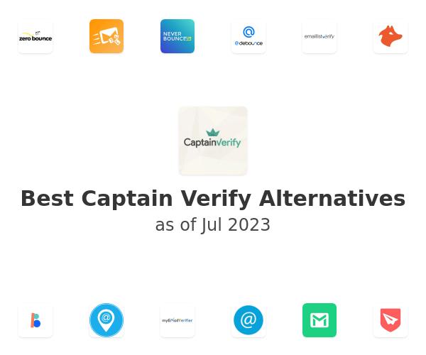 Best Captain Verify Alternatives
