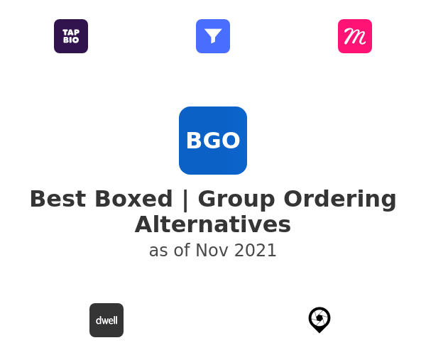 Best Boxed | Group Ordering Alternatives