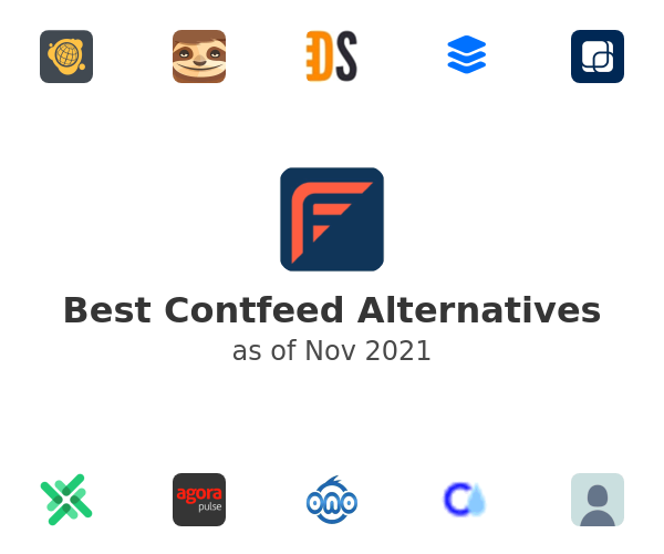 Best Contfeed Alternatives