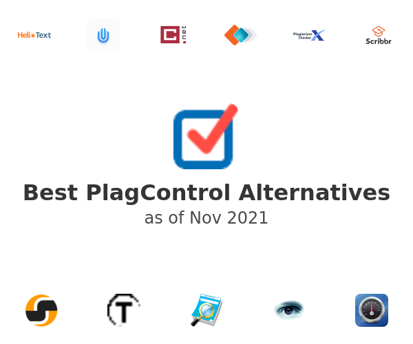 Best PlagControl Alternatives