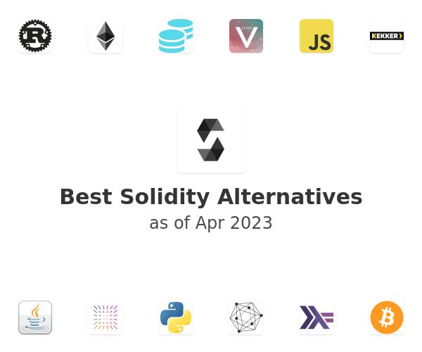 Best Solidity Alternatives