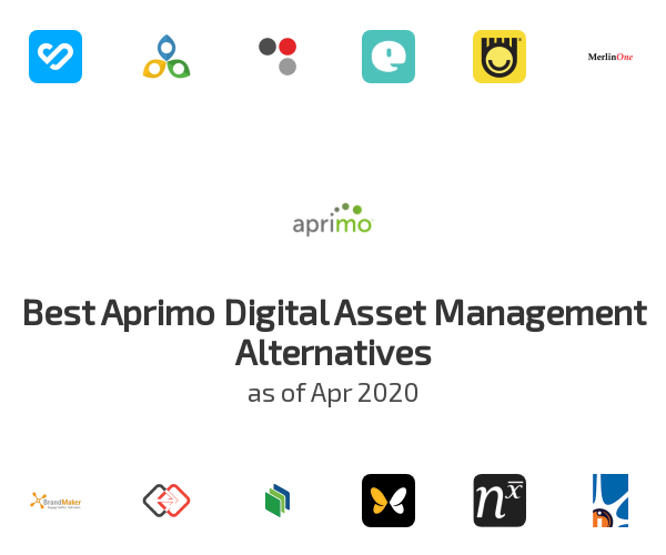 Best Aprimo Digital Asset Management Alternatives