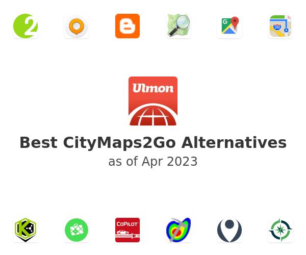 Best CityMaps2Go Alternatives