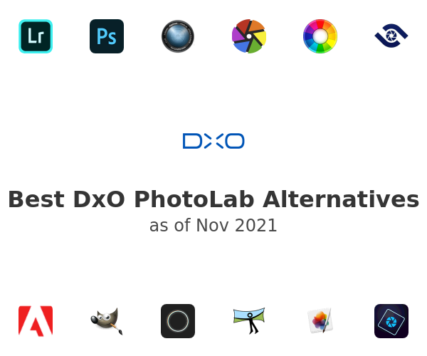 Best DxO PhotoLab Alternatives