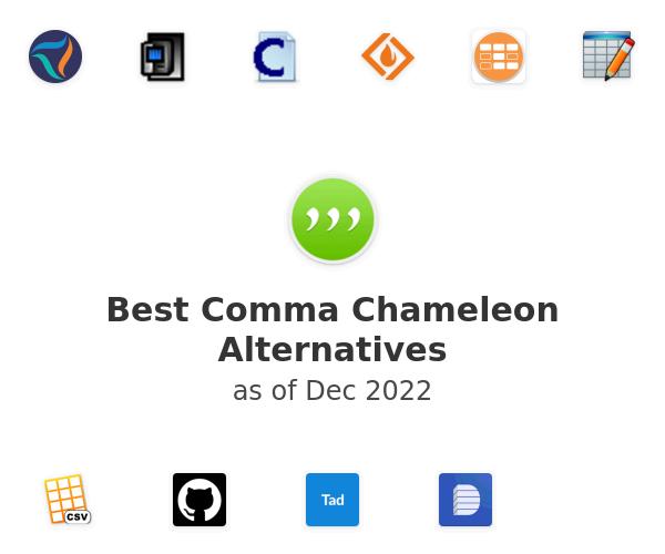 Best Comma Chameleon Alternatives