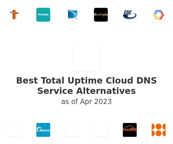Best Total Uptime Cloud DNS Service Alternatives