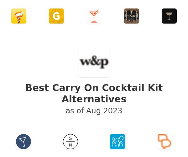 Best Carry On Cocktail Kit Alternatives