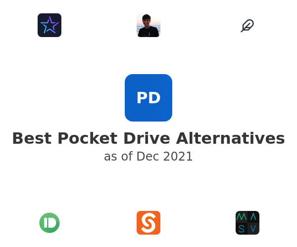 Best Pocket Drive Alternatives