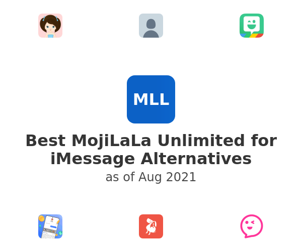 Best MojiLaLa Unlimited for iMessage Alternatives