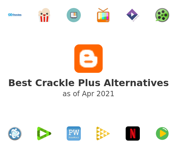 Best Crackle Plus Alternatives