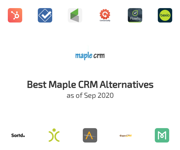 Best Maple CRM Alternatives