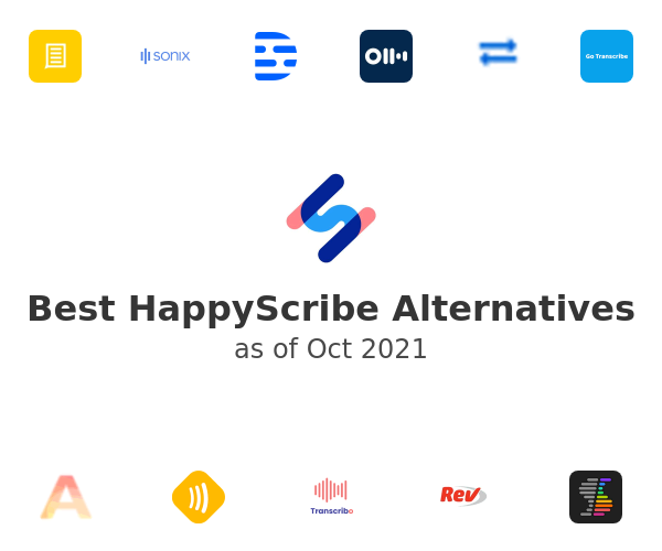 Best HappyScribe Alternatives