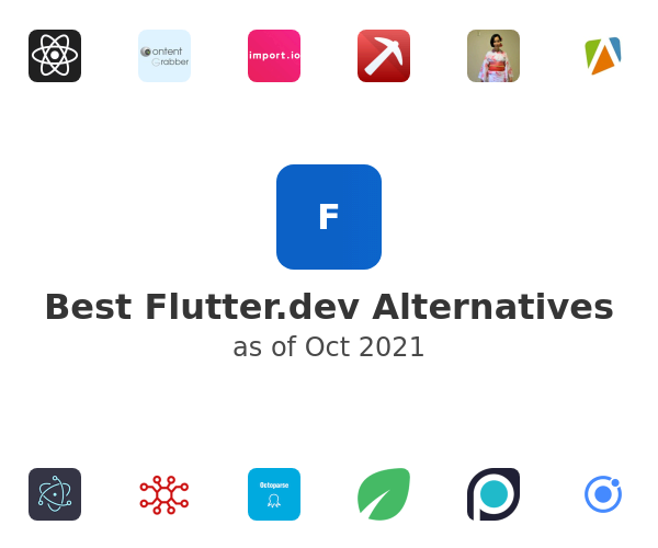 Best Flutter by Google Alternatives