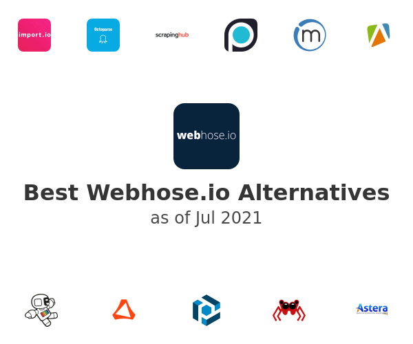 Best Webhose.io Alternatives