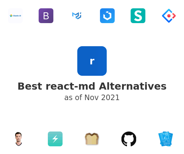 Best react-md Alternatives