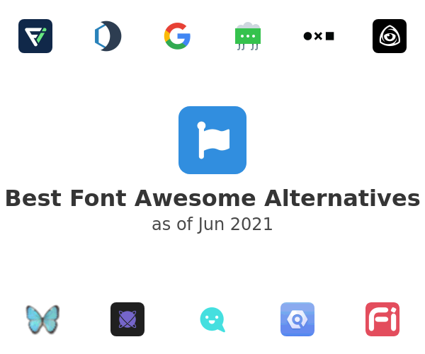 Best Font Awesome Alternatives