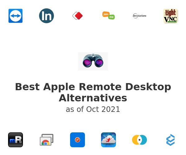 Best Apple Remote Desktop Alternatives