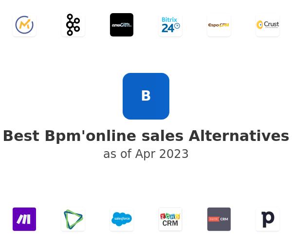 Best Bpm'online sales Alternatives