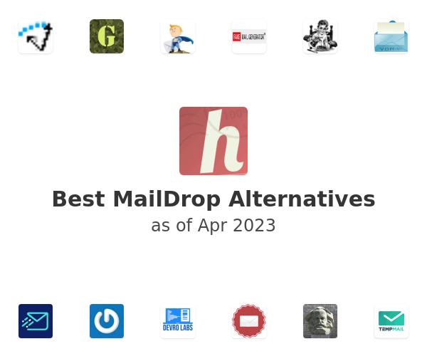 Best MailDrop Alternatives