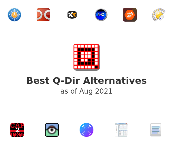 Best Q-Dir Alternatives