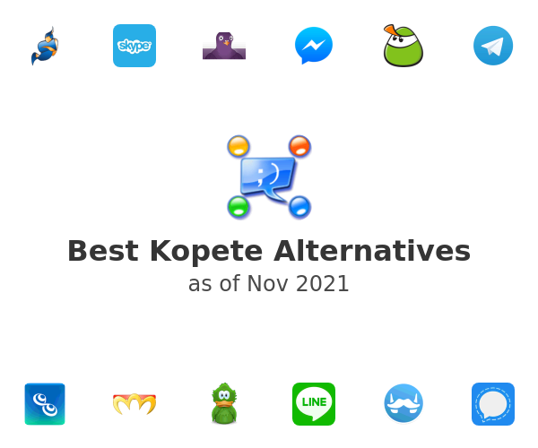 Best Kopete Alternatives