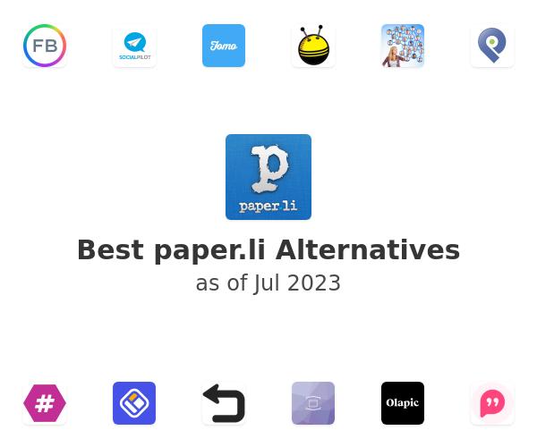 Best paper.li Alternatives