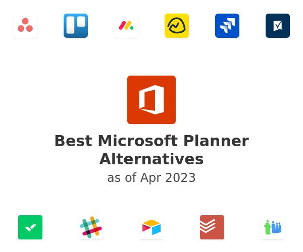 Best Microsoft Planner Alternatives
