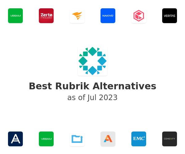 Best Rubrik Alternatives