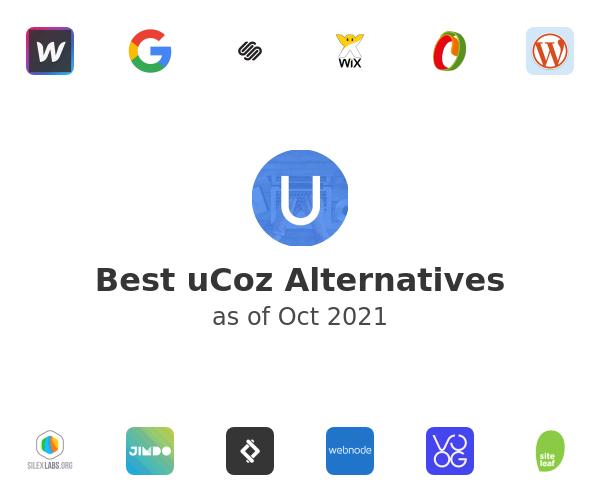 Best uCoz Alternatives