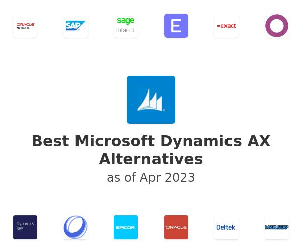 Best Microsoft Dynamics AX Alternatives