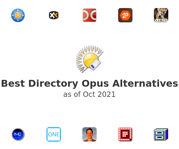 Best Directory Opus Alternatives