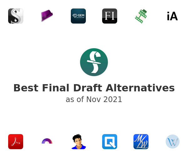 Best Final Draft Alternatives