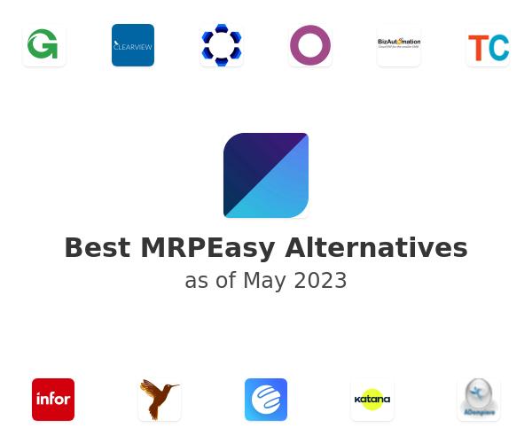 Best MRPEasy Alternatives