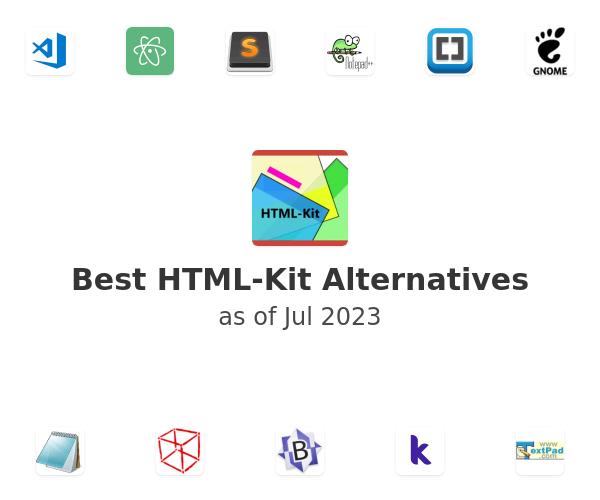 Best HTML-Kit Alternatives