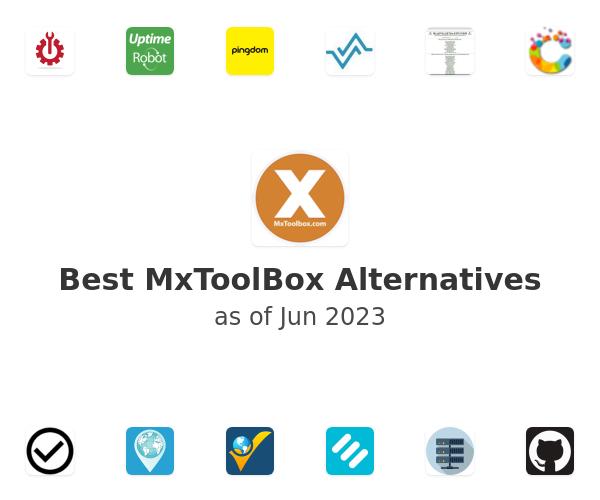 Best MxToolBox Alternatives
