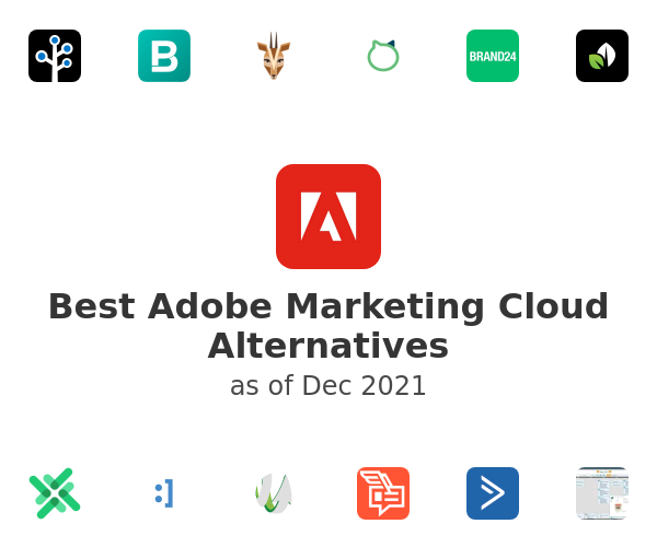 Best Adobe Marketing Cloud Alternatives