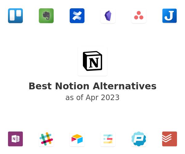 Best Notion Alternatives