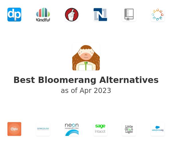 Best Bloomerang Alternatives
