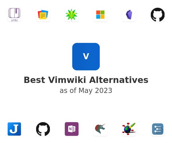 Best Vimwiki Alternatives