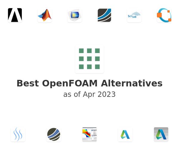 Best OpenFOAM Alternatives