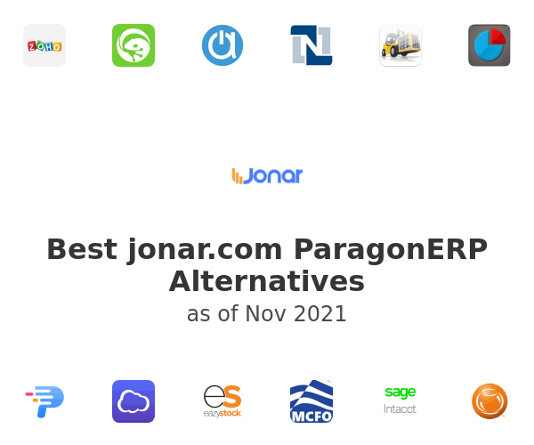Best ParagonERP Alternatives