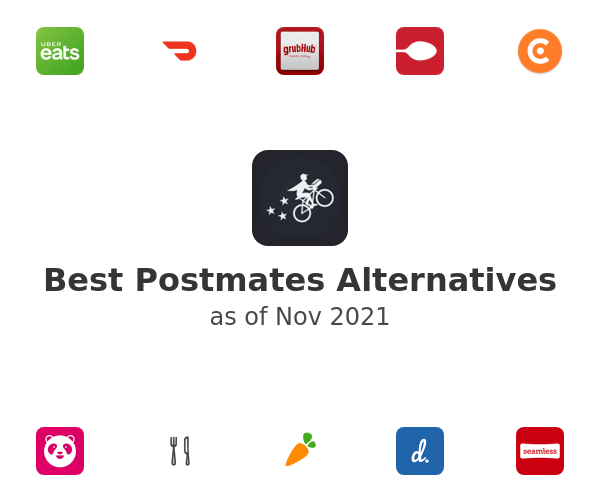 Best Postmates Alternatives