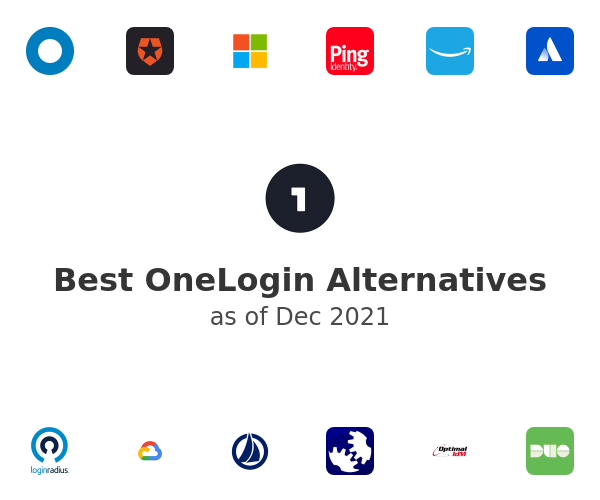 Best OneLogin Alternatives